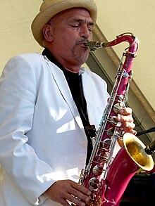 Joe Camilleri no Mordialloc Festival, março de 2006 Foto: Mandy Hall