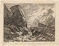 Johan Christian Dahl, Norwegian Coast During a Storm, 1819, NGA 74882.jpg