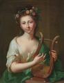Johann Heinrich Tischbein der Ältere - Bildnis der Erato, Muse der Liebesdichtung, 1779.png