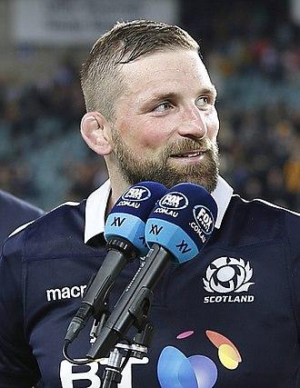 John Barclay (rugby union) - Image: John Barclay 2017