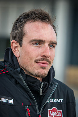 John Degenkolb in Utrecht ter voorbereiding op de Tour de France (april 2015)