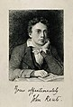 John Keats. Wood engraving after J. Severn, 1819. Wellcome V0003190.jpg