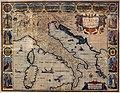 John speed per george humble, italia newly augmented, 1626, stampa acquarellata 01.jpg