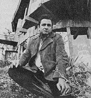 Cash vor seinem Haus, 1969