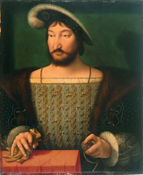 File:Joos van Cleve - Portrait of Francis I, King of France (ca. 1532-1533) - Google Art Project.jpg