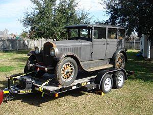 Jordan Motor Car Company - Image: Jordan Sedan 1928
