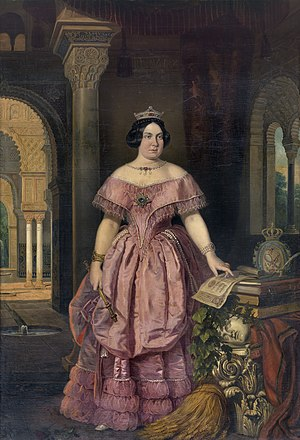 José Galofré y Coma - Isabel II of Spain by José Galofré y Coma