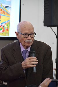 Josep Maria Blanco Ibarz at the Barcelona Comic Fair, 2016.JPG