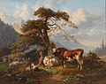 Joseph Heicke - On the Alpine Pasture.jpg