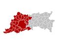 Judicial Arrondissement Bruxelles Belgium Map.png