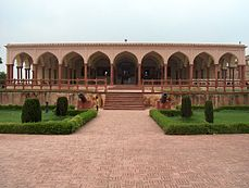 July 9 2005 - The Lahore Fort-Closer view of the Hall of public audience.jpg