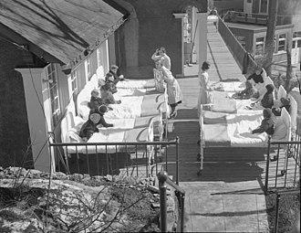Montreal Children's Hospital - Image: Junior League. Children Memorial Hospital B An Q P48S1P02584