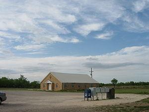 Justiceburg, Texas - Image: Justiceburg Texas Church