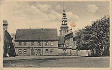 Das Königin-Luise-Haus in Tilsit, wo die Begegnung stattfand (Quelle: Wikimedia)