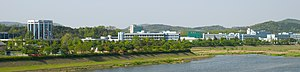 KAIST from across Gapcheon.jpg