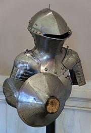 KHM Wien S XV - Jousting armour by Jörg and Lorenz Helmschmid front