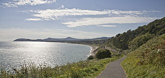 County Dublin - View of Killiney Bay from Killiney Hill