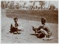 KITLV - 18858 - Kurkdjian, Ohannes - Soerabaja - Cockfight in Bali - circa 1915.tif