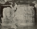 KITLV 88167 - Unknown - Sculptures in the Elephanta Temple in a cave in British India - 1897.tif