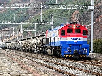 EMD GT26CW-2 - Image: KORAIL DL7400