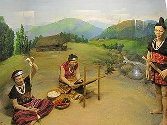 Miju Mishmi tribe - Diorama of Kaman people in Jawaharlal Nehru Museum, Itanagar.