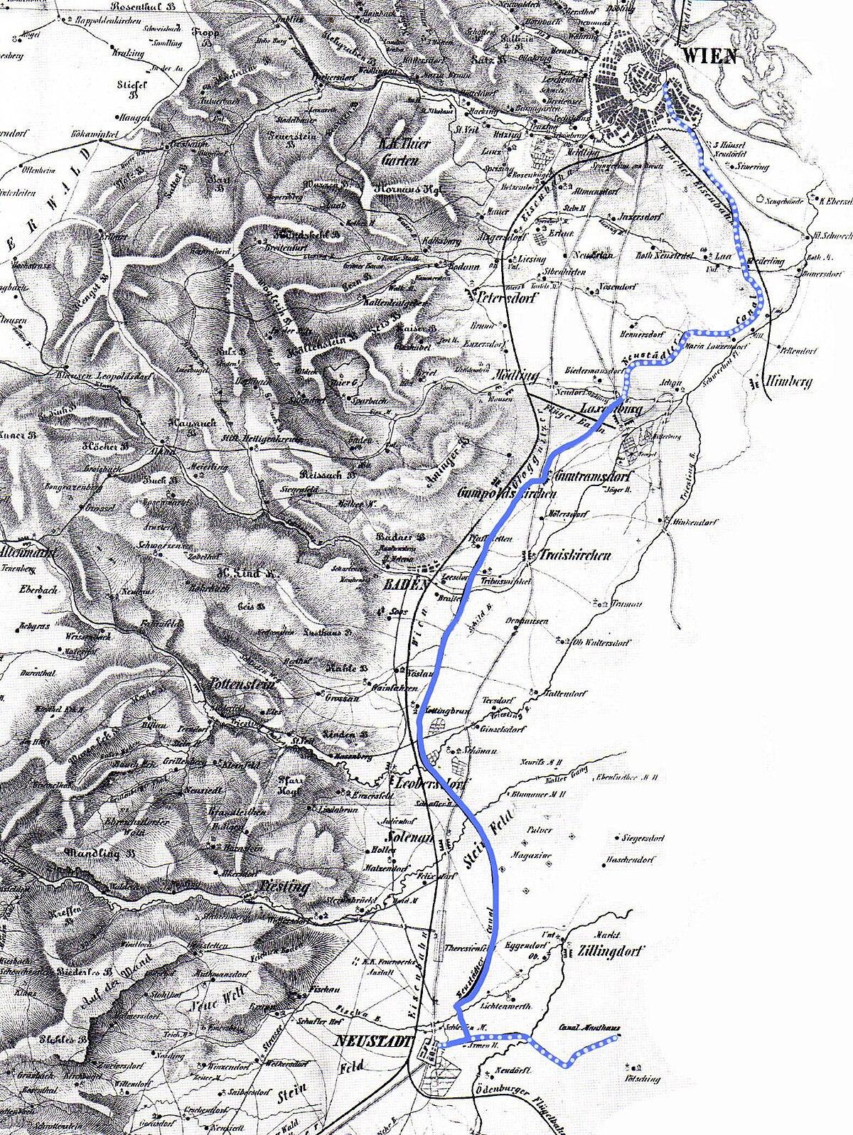 Wiener Neustädter Kanal – Wikipedia