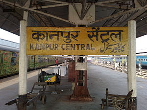 Kanpur Central stationboard.jpg