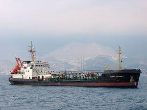 Kapitan Kovalenko - IMO 8711722 - Port of Novorossiysk, Russia 25-Jul-2005.jpg