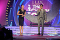 Karisma Kapoor,Vishal Malhotra grace the finale of UTV Stars 'Lux The Chosen One' 03.jpg