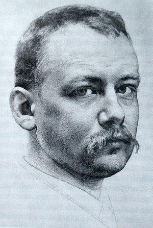 Karl Stauffer-Bern - Self-portrait (date unknown)