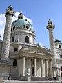 Karlskirche Vienna June 2006 474.jpg