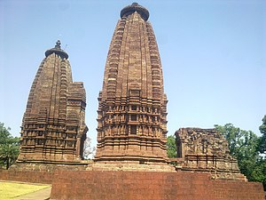Kalachuris of Tripuri - The Karan temple at Amarkantak, built by Lakshmikarna