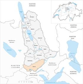 Karte von Emmen