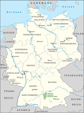 Map showing the location of Augsburg-Western Woods Nature Park
