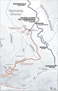 Eifel Aqueduct aqueduct in the Eifel region of the Roman Empire
