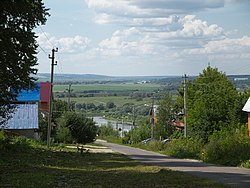 View of the Oka River, from Kashira, Kashirsky District