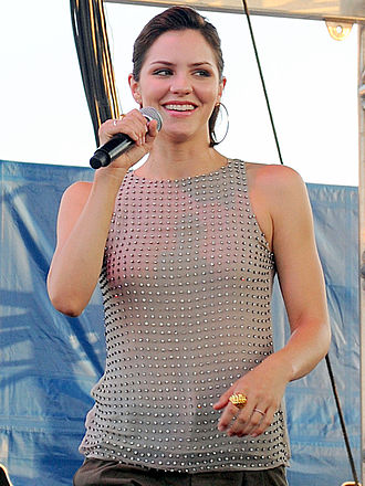 Katharine McPhee - McPhee performing in 2010