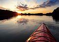 Kayak sunset Lake Ahquabi State Park.jpg