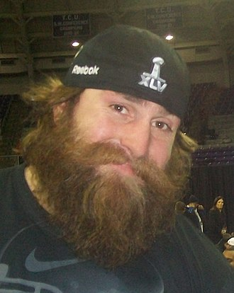 Brett Keisel - Brett Keisel prior to Super Bowl XLV