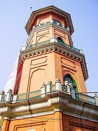 Cunningham Clock Tower - Image: Kenta Kerr, Peshawar