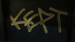 Kept graffitti in the San Francisco Bay Area.