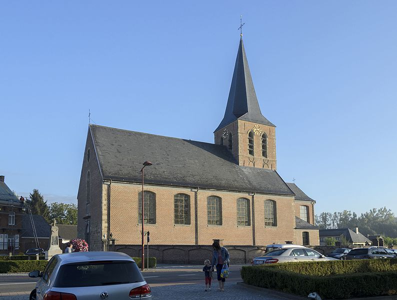Sint-Pietersbandenkerk van Ophasselt (deelgemeente van Geraardsbergen); beschermd monument