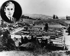 Edendale, Los Angeles - Keystone studios in 1915