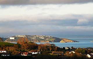 Tor Bay bay on the south-east coast of the county of Devon, England