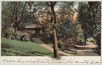 Kinnear Park - Kinnear Park circa 1907