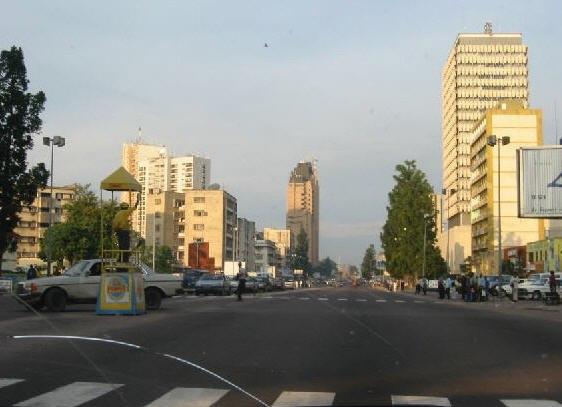 Kinshasa downtown