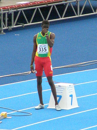 2010 World Junior Championships in Athletics - Kirani James of Grenada won 400 m gold after his silver in 2008.