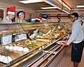 Kirtland leaders serve Thanksgiving meal at Thunderbird 141127-F-KT494-002.jpg