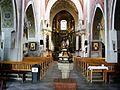 Kościół, ob. par. pw. św. Jana Ewangelisty, 2 poł. XI, XIII-XVI-XVIII wnętrze (15).JPG