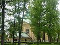 Kościół Podwyższenia Krzyża Świętego w Jeleniej Górze (widok od tyłu).JPG